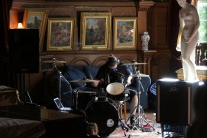 Jon Adams, performance, The Picture Room, Hospitalfield House, Arbroath. YWAMM, (2007)