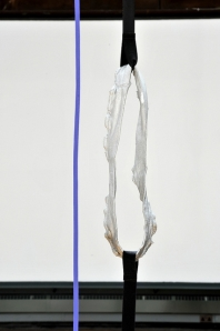 'Inhale Exhale', Alice Channer, detail (2010), Mackintosh Museum, GSA