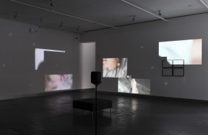 Installation view, 'Muscle Theory', (2015) Catherine Street, Reid Gallery, The Glasgow School of Art. Photo: Alan Dimmick