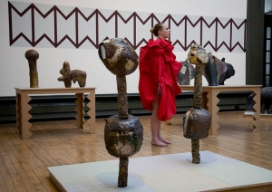 'And The Three Mothers Ask: Don't You Know Me?' performance by Ruth Barker as part of 'The Erratics', Glasgow School of Art, (2011).