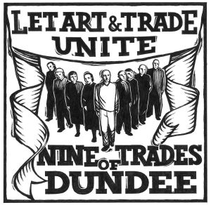 Nine Trades of Dundee logo: Simon Manfield / Sarah Tripp