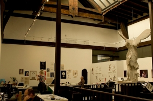 Three Points of Contact, studio in Mackintosh Museum, Glasgow (2012)