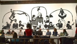 'Last supper', TAap (2012) Image: Richard Ballinger