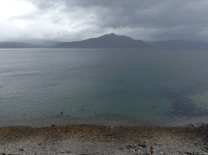 Swimming on Raasay