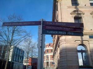 Derrysignpost