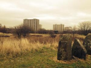 Sighthill Standing Stones, Glasgow. Photo: Julie Ramage