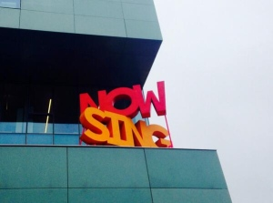 'NOW SING', Michael Stumpf (2014), Reid Building Balcony, GSA Photo: Sarah Lowndes