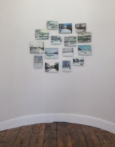 Installation shot, 'Selected Everything' (2015), Finlay Mackintosh, at The Dock, Carrick-on-Shannon