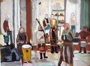 'Buchanan Street Buskers' (2014), Finlay Mackintosh