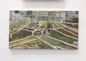 'Railway Tracks, Central Station' (2014), Finlay Mackintosh