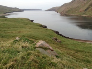 Croft at Heylor, Shetland, used for Jenny Gilbertson's film 'The Rugged Island' (1931) Photo: Jenny Brownrigg