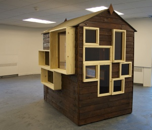 'Shodhan Shed' (2015, Colin Lindsay. 'Building Echoes' (2015), Interview Room 11, Edinburgh
