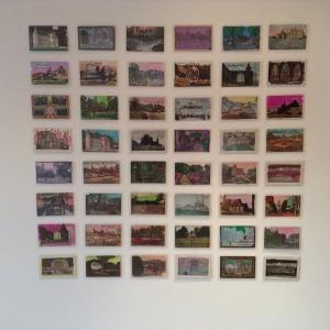 Installation Shot, 'Cemetery', Alan Grieve, Workspace, Dunfermline (2015)