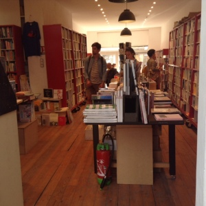 Galerie Ho, bookshop, Marseille Photo: Jenny Brownrigg