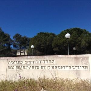 Rntrance, L'Ecole Supérieure d'Art et de Design Marseille-Méditerranée Photo: Jenny Brownrigg