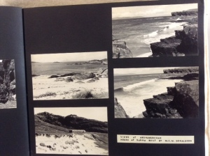 Detail from Violet Banks' photograph album, Royal Commission of Ancient & Historic Monuments Scotland Ref: PA244