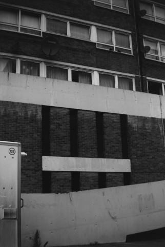 'Europe Road, 31 Jan 2020', Jenny Brownrigg. Box Brownie, T-Max 400 Film