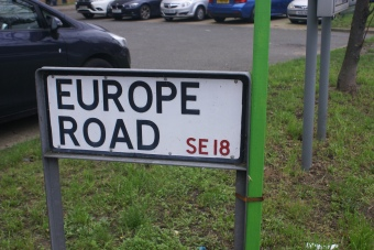 'Europe Road', (2020), Jenny Brownrigg